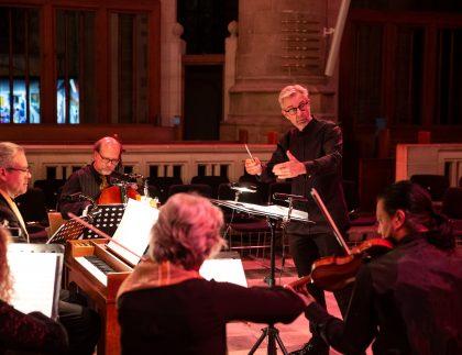 Wim Steinmann dirigeert Domestica Rotterdam